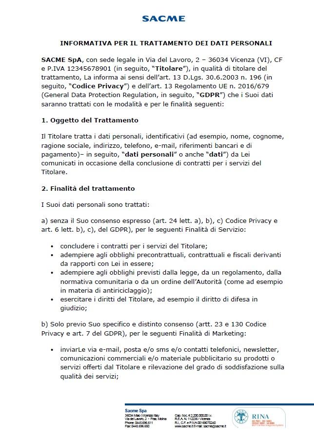 SACME_INFORMATIVA_PER_IL_TRATTAMENTO_DEI_DATI_PERSONALI