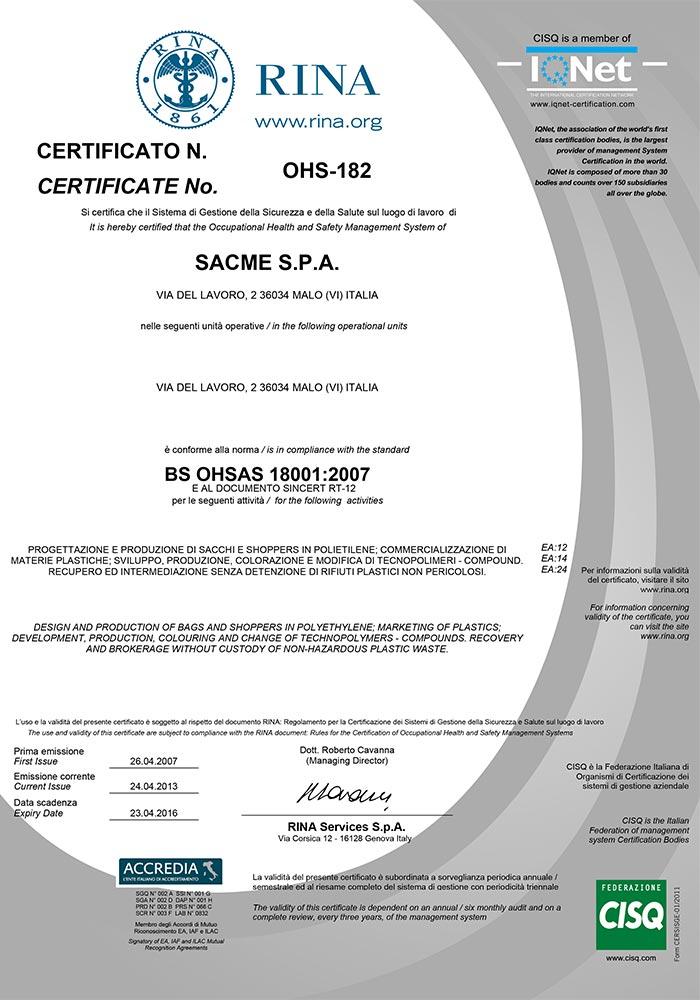 sacme-certificazioni-rina-VisualizzaCertificato_OHSAS_18001