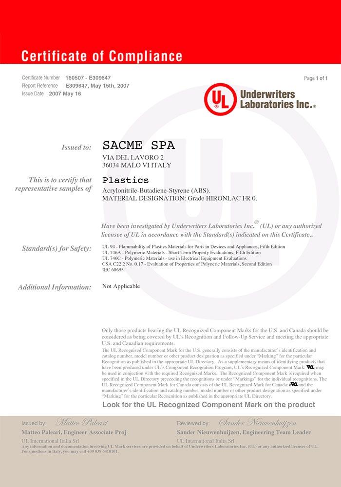 sacme-certificazioni-ul-UL_HIRONLAC_FR_0